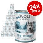 Ekonomično pakiranje Little Wolf of Wilderness 24 x 400 g