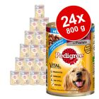 Ekonomično pakiranje Pedigree Adult  24 x 800 g