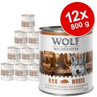 Ekonomično pakiranje: Wolf of Wilderness 12 x 800 g
