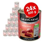Ekonomipack: Animonda GranCarno Sensitive 24 x 800 g