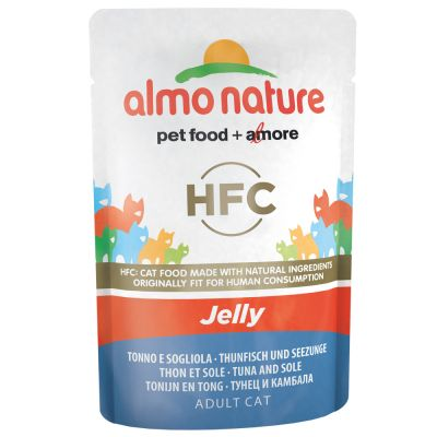 Ekonomipack: Almo Nature HFC Pouch 12 x 55 g