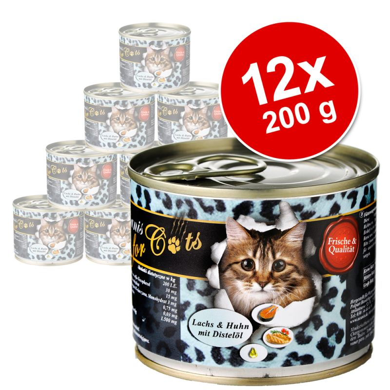 Ekonomipack: O´Canis for Cats 12 x 200 g