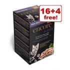Encore Multipack Jelly Pouches Cat Food - 16 + 4 Free!*