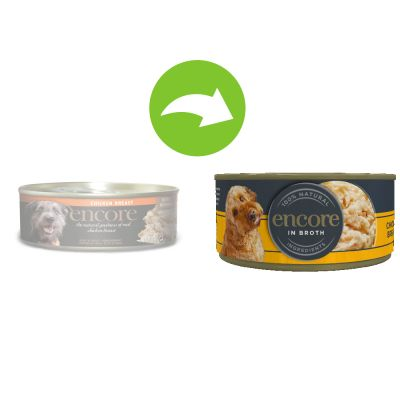 Encore Dog Tin Saver Pack 48 x 156g
