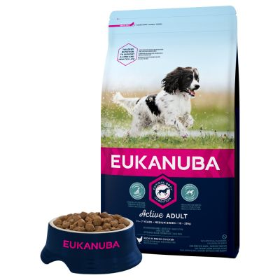Eukanuba Active Adult Medium Breed - Chicken