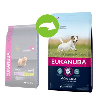 Eukanuba Active Adult Small Breed Chicken