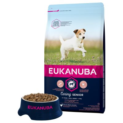 Eukanuba Caring Senior Small Breed - Kylling
