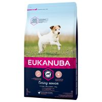 Eukanuba Caring Senior Small Breed poulet pour chien