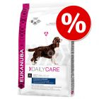 Eukanuba Daily Care/Breed 2 kg a 12 kg com grande desconto!
