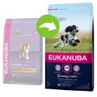 Eukanuba Growing Puppy Medium Breed, poulet pour chiot