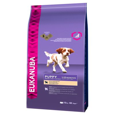 Eukanuba Puppy Small / Medium Breed bárány & rizs