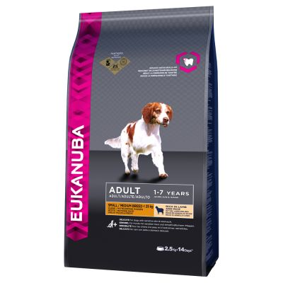 Eukanuba Small & Medium Breed Adult - Lamb & Rice