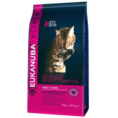Eukanuba Sterilised / Weight Control Adult Kattenvoer