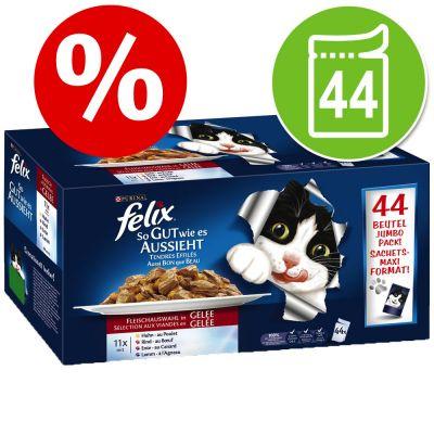 9921fb2a638 Extra voordelig! 44 x 100 g Felix Elke Dag Feest   Zooplus