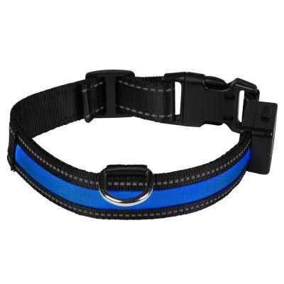 Eyenimal LED-svítící obojek - modrý  4cb681d99d