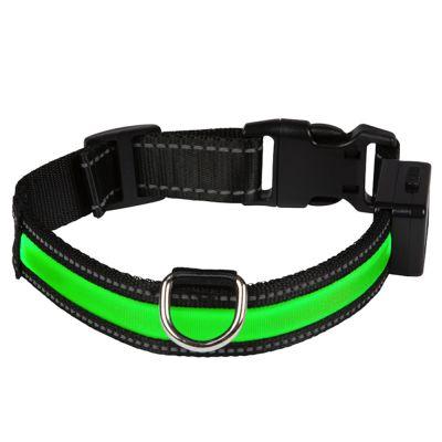Eyenimal LED-svítící obojek - zelený  f5135a1cec