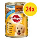 Fai scorta! Pedigree Junior Classic 24 x 400 g