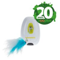 Feather Teaser Cat Toy with Infrared Sensor - Birthday Edition