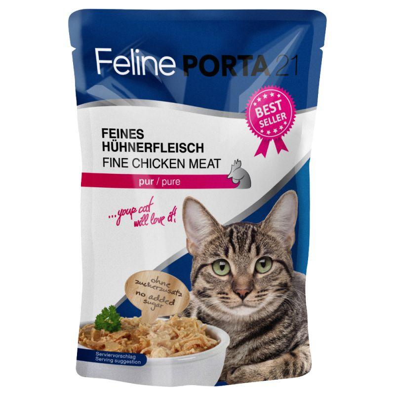 Feline Porta 21 -tuorepussit 6 x 100 g