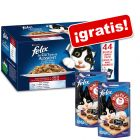 Felix Fantastic 44 x 100 g + 2 x Felix Mini Filetti ¡gratis!