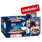 Felix Tendres Effilés en gelée Mégapack 44 x 100 g + 2 x 40 g de Felix Mini Filetti