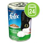 Felix Cans in Jelly 24 x 400 g