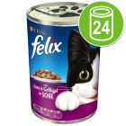 Felix Cans in Sauce 24 x 400 g