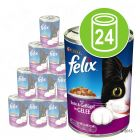Felix Cat Food Cans Saver Pack 24 x 400g