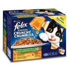 Felix Crunchy Crumbles в желе 10 x 100 г + 40 г топинг