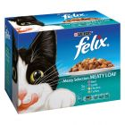 Felix Meaty Loaf Classic 12 x 100 g pour chat