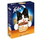 Felix Meaty Sensations Dry Cat Food with Poultry