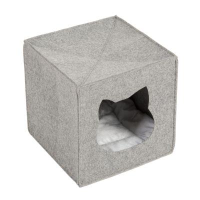 778b4208764185 Budka dla kota i legowiska tanio w zooplus: Filcowa budka dla kota ...