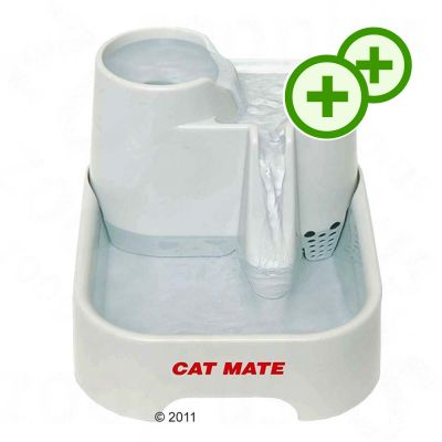 Dishes, Feeders & Fountains Pet Supplies Distributore Fontana Fontanella Cat Mate Abbeveratoio Cani E Gatti