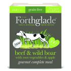 Forthglade Gourmet Grain-Free - Beef & Wild Boar with Root Veg & Apple