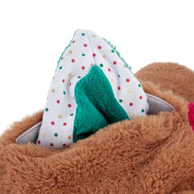 Fox/Wolf Dog Toy with Cuddly Blanket
