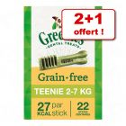 Friandises Greenies Soin dentaire pour chien : 2 + 1 offert !