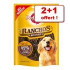 Friandises Pedigree Ranchos Originals 2 paquets + 1 paquet offert !