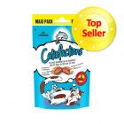 Friandises Dreamies Catisfactions maxi format, saumon