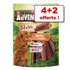 Friandises PURINA AdVENTuROS 4 paquets + 2 paquets offerts !