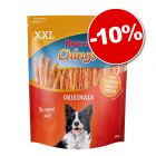 Friandises Rocco Chings Pack XXL 2 x 900 g : 10 % de remise !