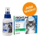 Frontline® Kombipaket: Spray + Spot on Katze