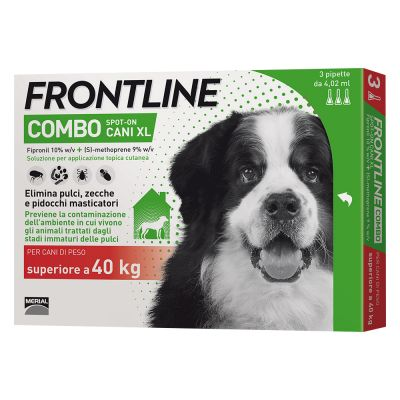 Frontline Combo Spot On Cani Xl Cani Con Peso 40 Kg Zooplus
