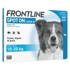 FRONTLINE Spot-On Chien M, 10 - 20 kg