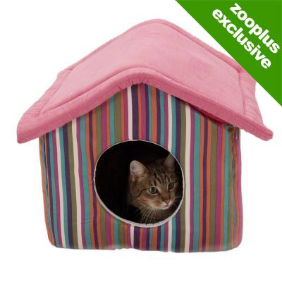 Funny Stripes Cat Den