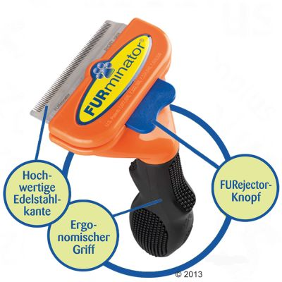 FURminator hrablo Medium Short Hair