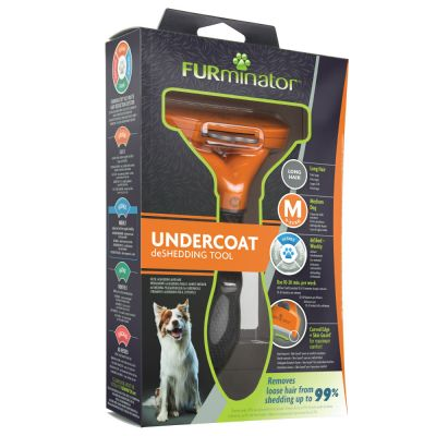 FURminator Long Hair M for Dogs