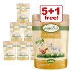 300g Lukullus Natural Grain-free Pouches - 5 + 1 Free!*