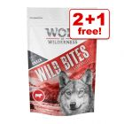 180g Wolf of Wilderness Wild Bites Dog Snacks - 2 + 1 Free!*