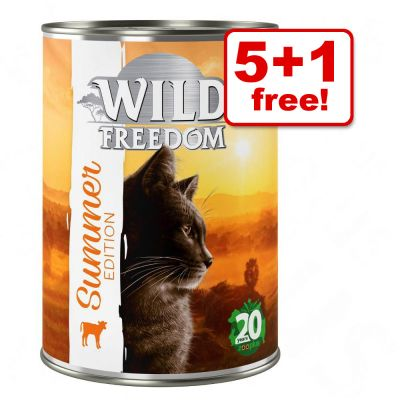 400 g Birthday Edition Wild Freedom Veal & Chicken - 5 + 1 Free!