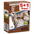 370g Bozita Chunks Wet Cat Food - 5 + 1 Free!*